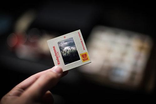 Photographie à l'unité en format numérique