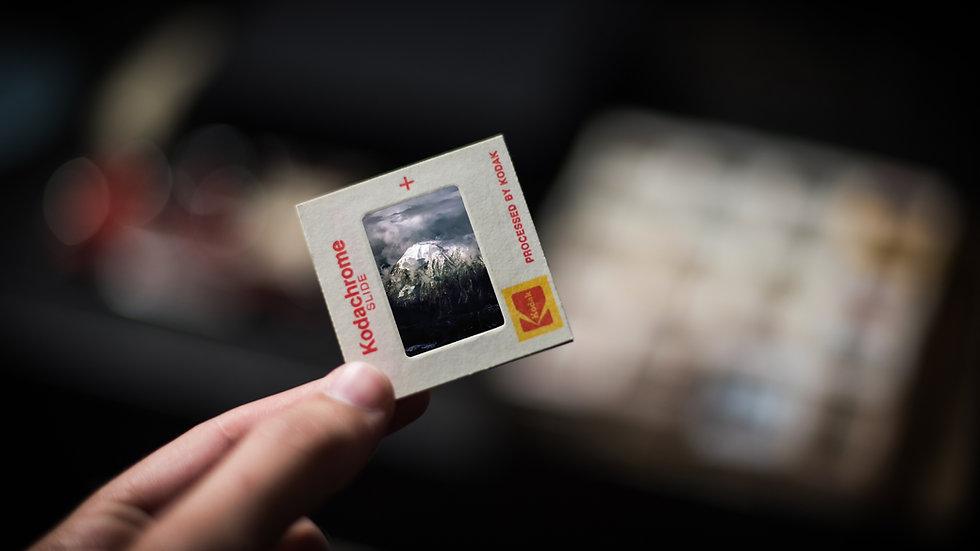 Slides, Negatives & Photographs (80p per scan), £15 minimum spend