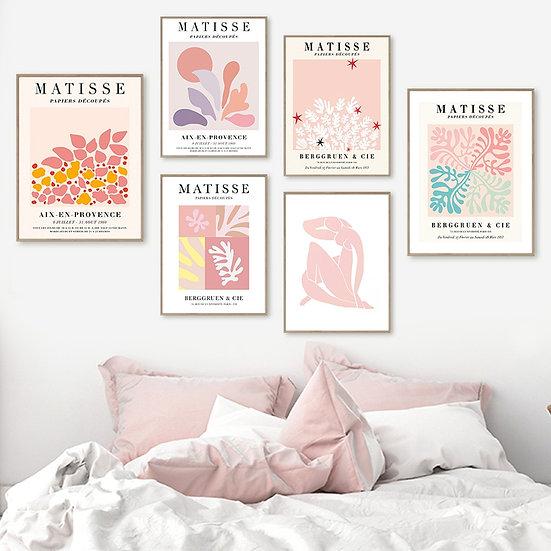 Matisse Pastel Poster