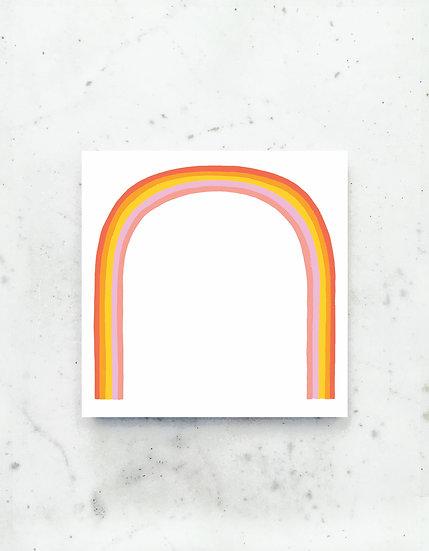 Rainbow Jumbo Deskpad