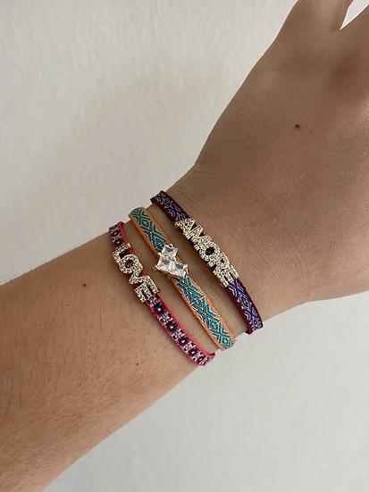 Bling bracelets (variety)