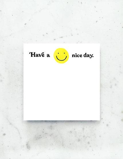 Have a Nice Day Jumbo Deskpad
