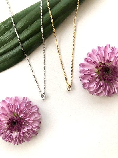 Aqua necklace