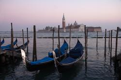 St Maggiore and Gondolas