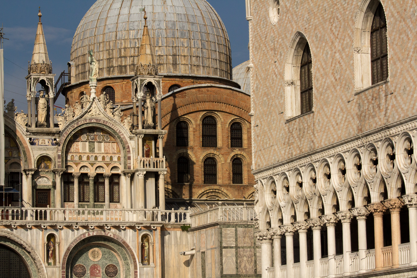 Doges' Palace and Domes