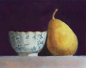 Pear and Porcelain