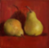 Pears by Candlelight (or Flemish Beauty)