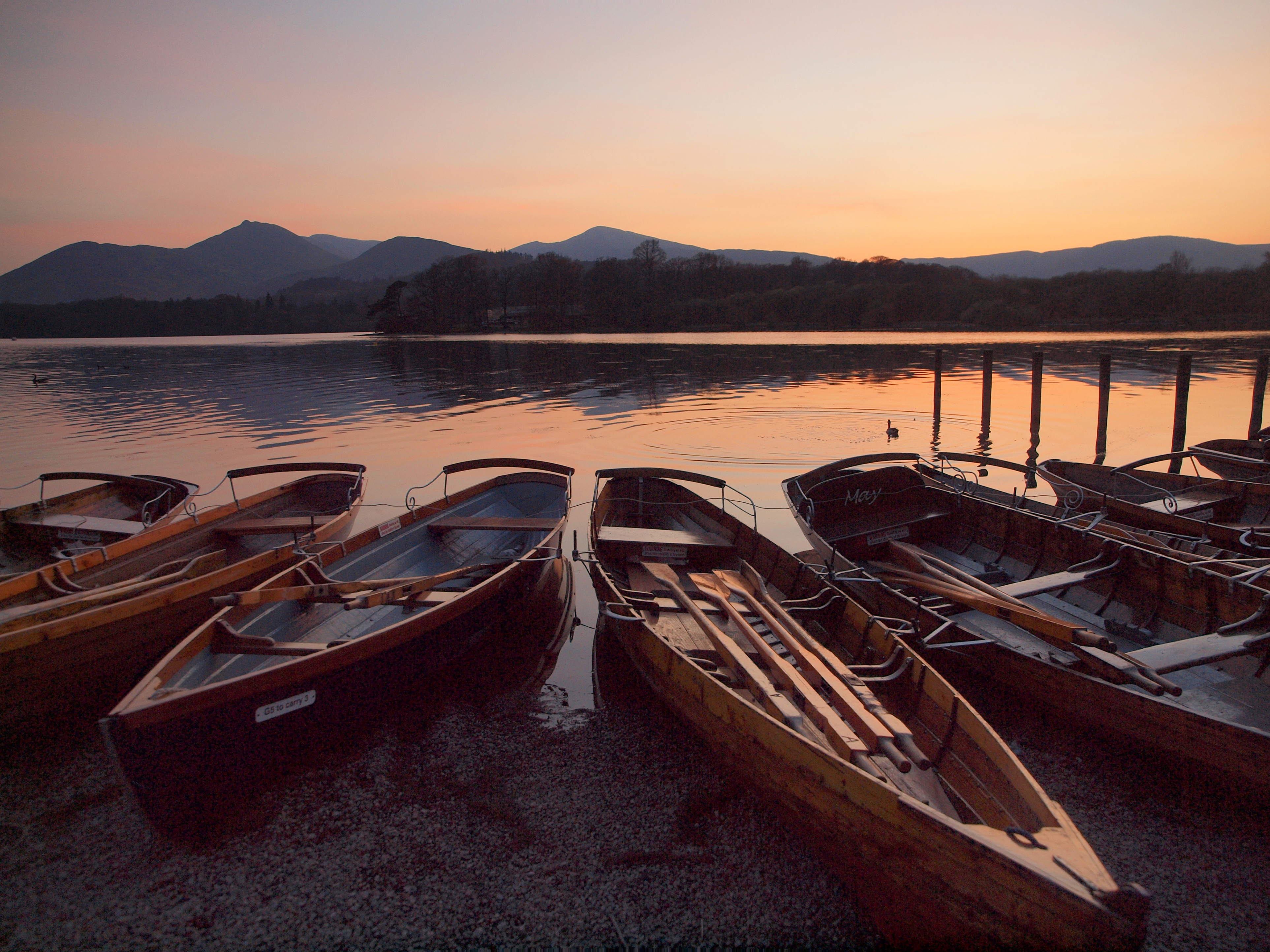 Derwentwater Evening