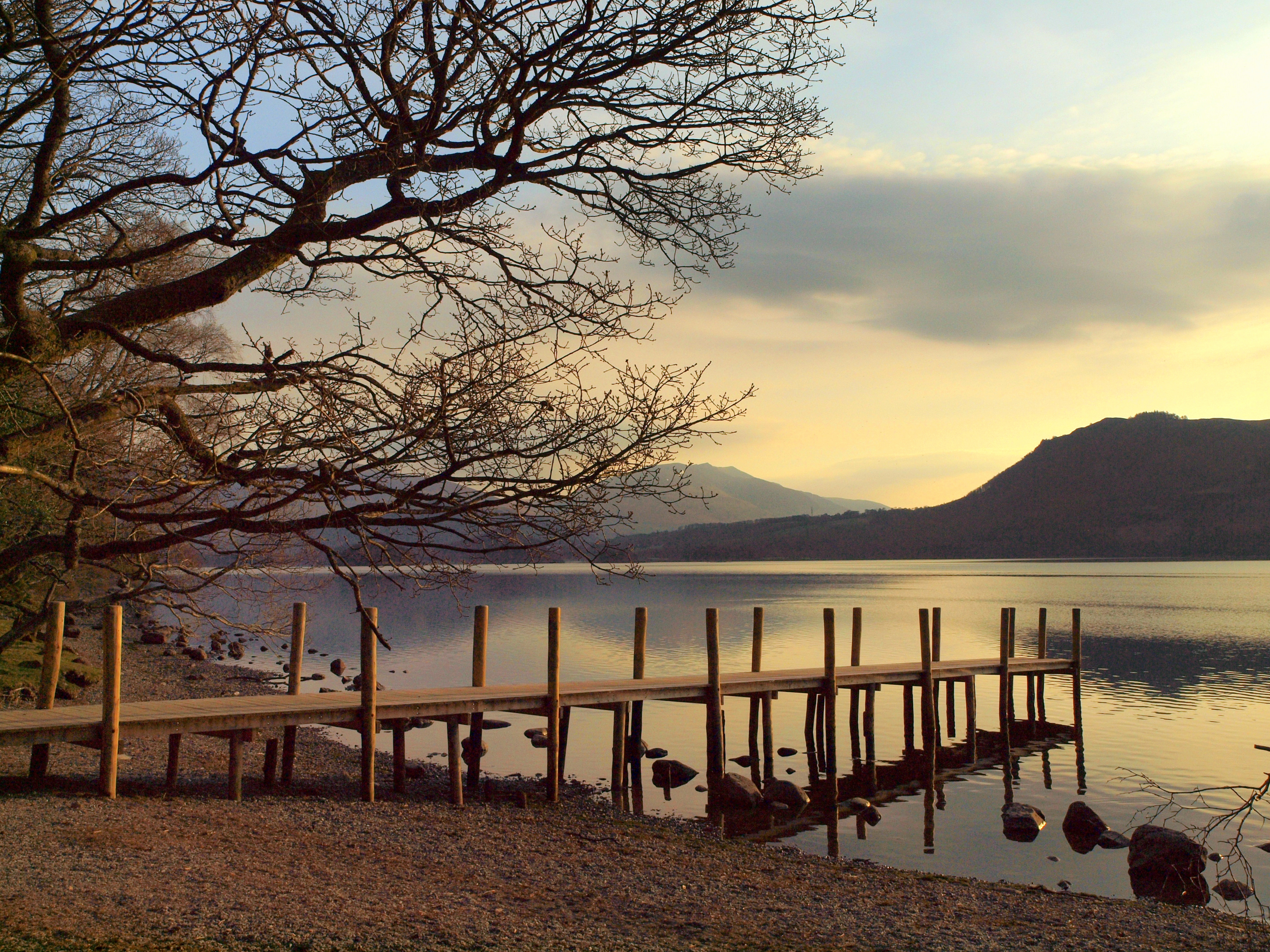 Dawn over Derwentwater