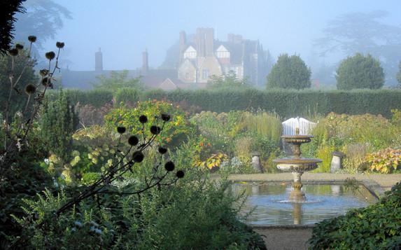 September in the White Garden