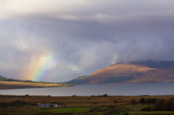Rainbow over Broadford Bay