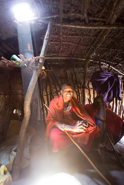 Inside the Maasai Hut 2