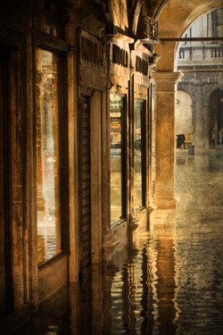 Flooded Alley, Venice