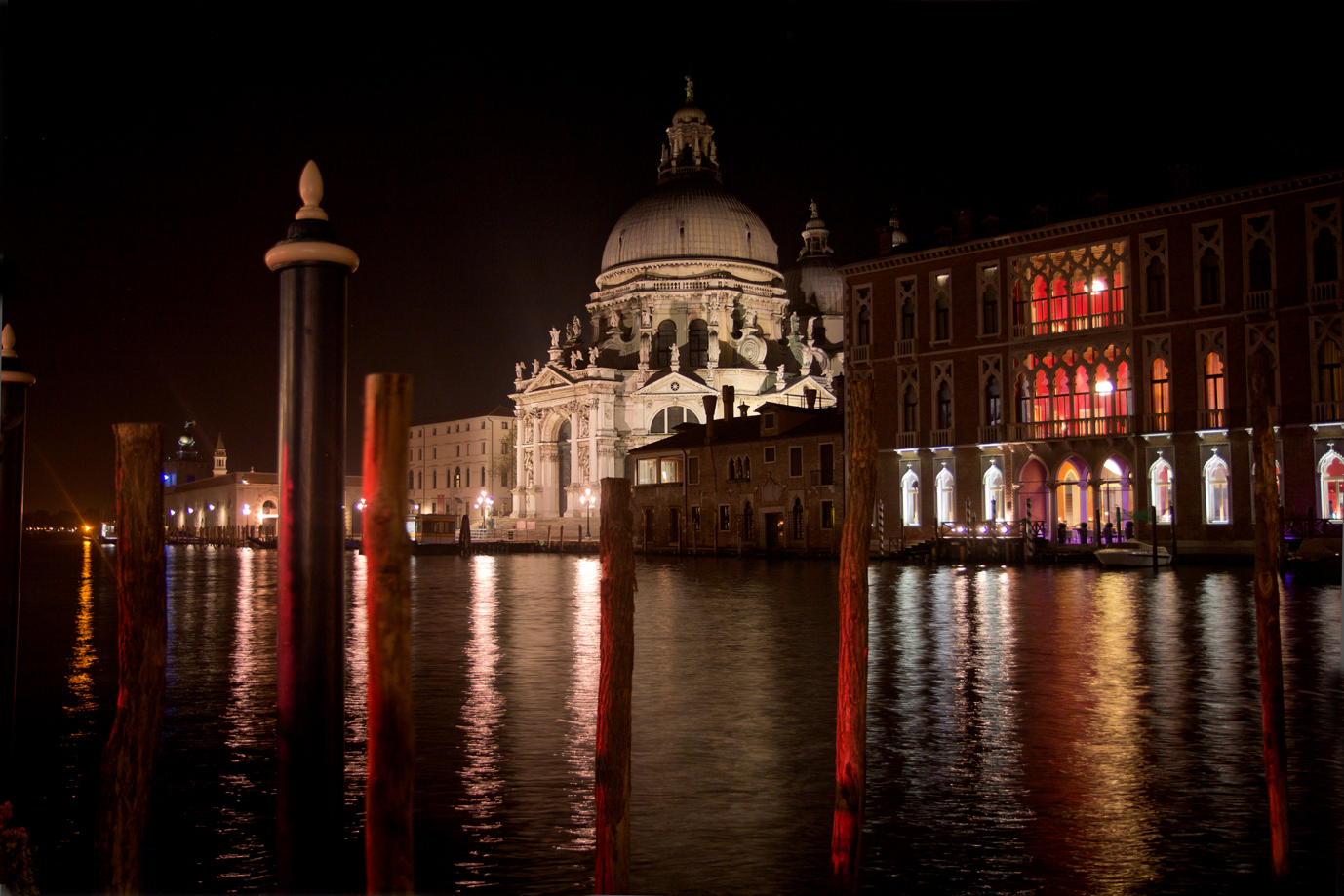 Santa Maria della Salute and the Centurian Hotel