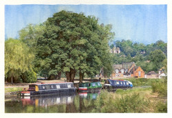 The River Wey, Godalming