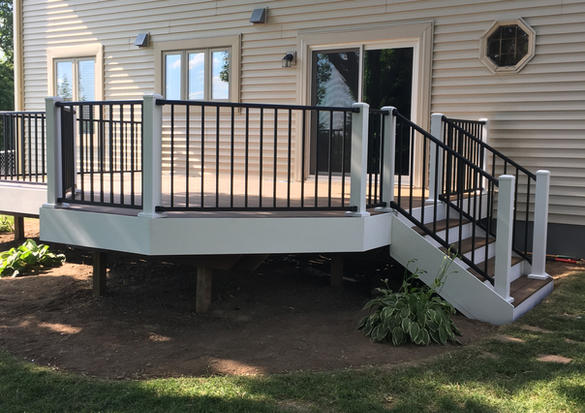 Beautiful brand new deck.