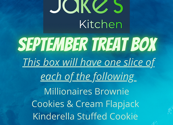 September Treat Box- dispatched Tuesday 14th September!