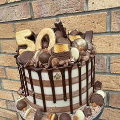 50th Chocolate Stipe C