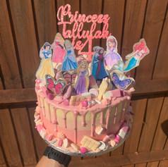Princess Pink Ombre Cake