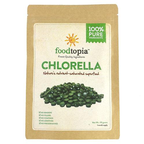 100% Pure Chlorella Vulgaris Tablets