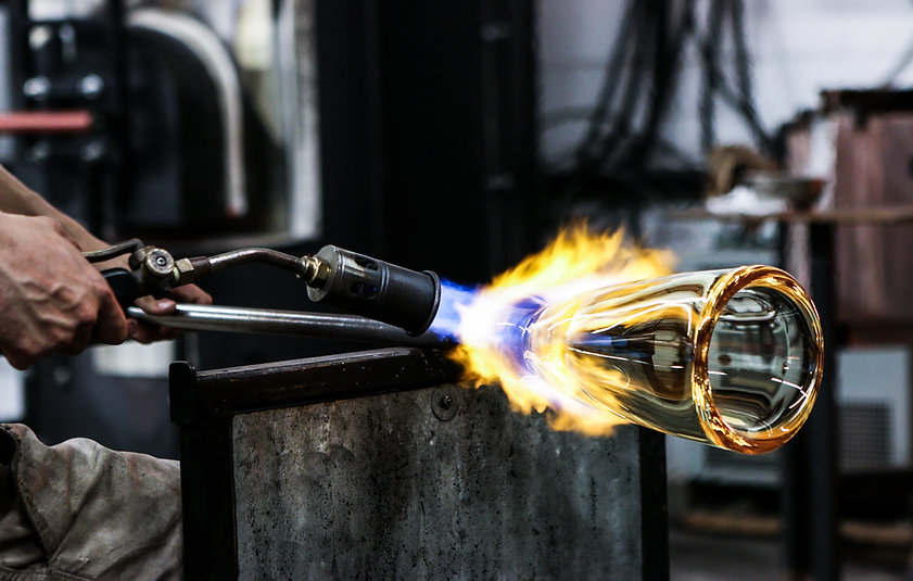 Glassblowing in Los Angeles