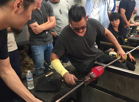 Beginning Glassblowing Workshop in Los Angeles (November 18th 2018 9am-4pm)