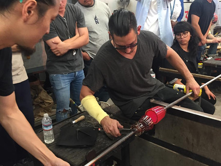 Beginning Glassblowing Workshop in Los Angeles (November 18th 2018 9am-4pm)