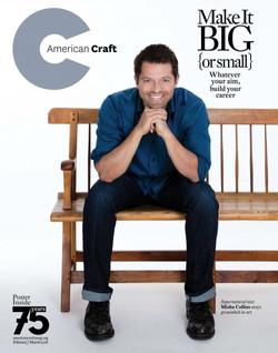 February-March-2018-American-Craft-magazine-cover-Misha-Collins