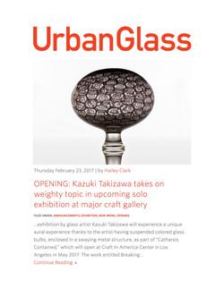 Urban Glass Hotsheet