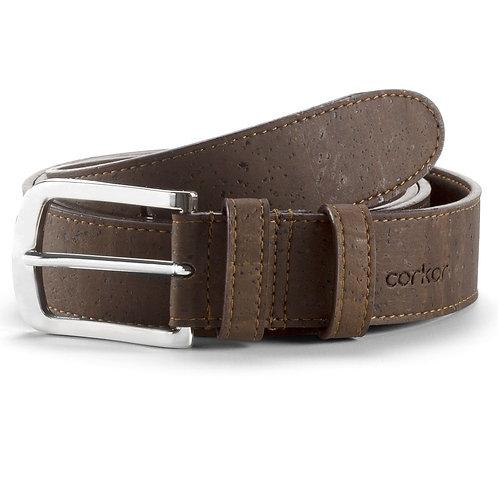 Cork Belt for Men (35 mm) - Brown