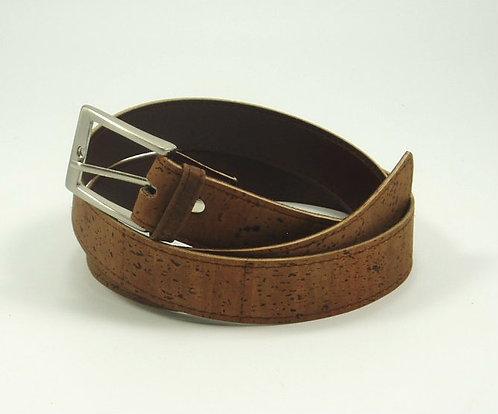 Men's Cork Belt - Dark Brown