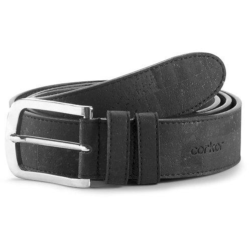 Cork Belt for Men (35 mm) - Black