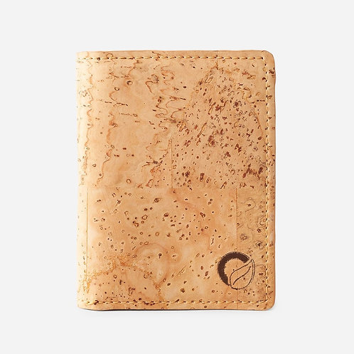 Minimalist Cork Wallet - Light Brown