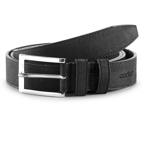 Cork Belt for Men (28 mm) - Black