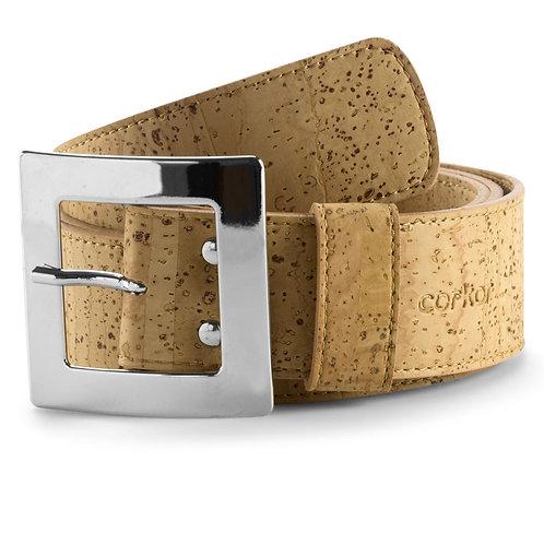 Cork Belt for Women (40 mm) - Natural