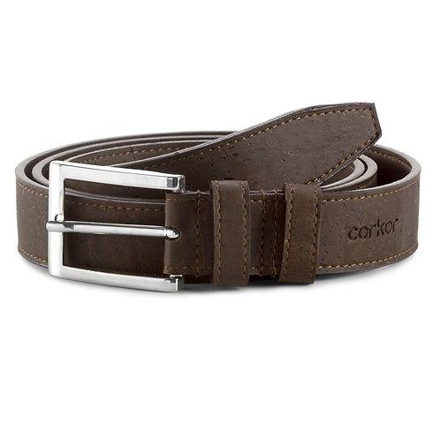 Cork Belt for Men (28 mm) - Brown