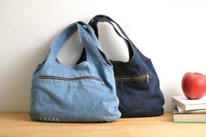 水洗丹寧手提包 Denim Handbag