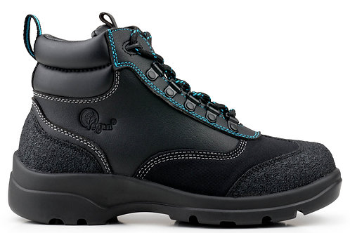 All-Terrain Waterproof Hiking Boots - Black