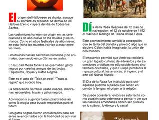 Halloween / Día de la Raza