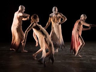 Embryotrophic Cavatina, A New Butoh Dance Work by Kokoro Dance