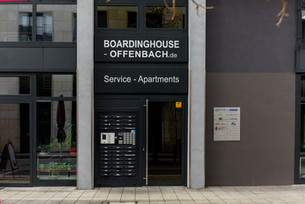 Boardinghouse Offenbach Eingang