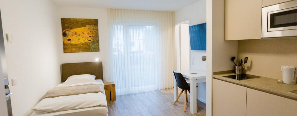 Ein-Zimmer Apartment