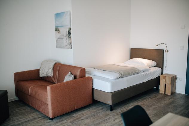 Einzelzimmer Basic Apartment
