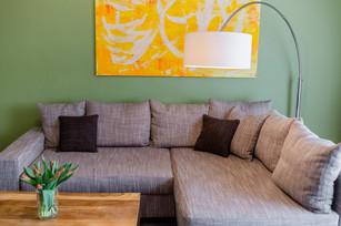 Wohnbereich Exklusive Apartment