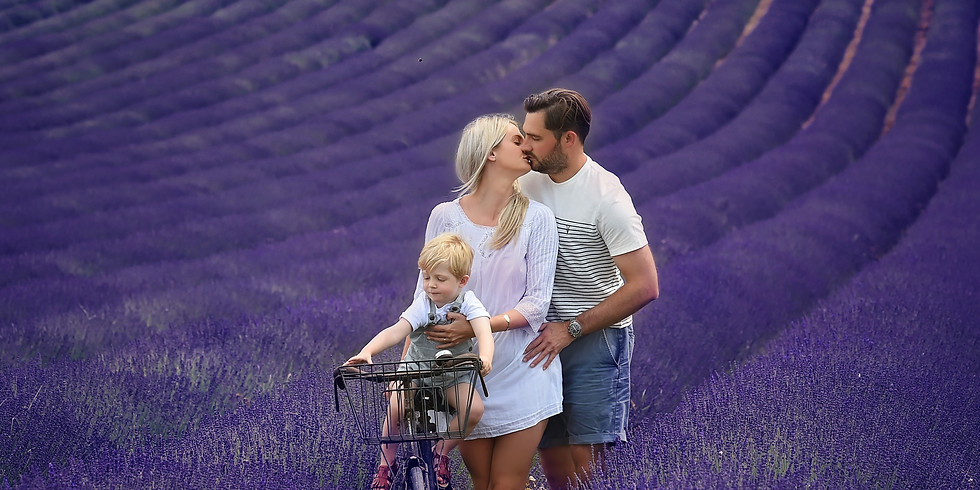 Love in the Lavender Styling Drop In