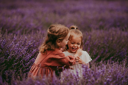 Love in the Lavender Photoshoot