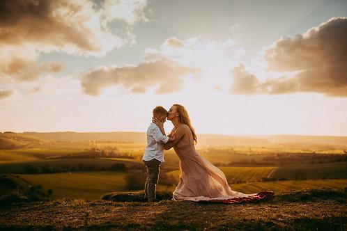 Sunset & Storytelling Photoshoot