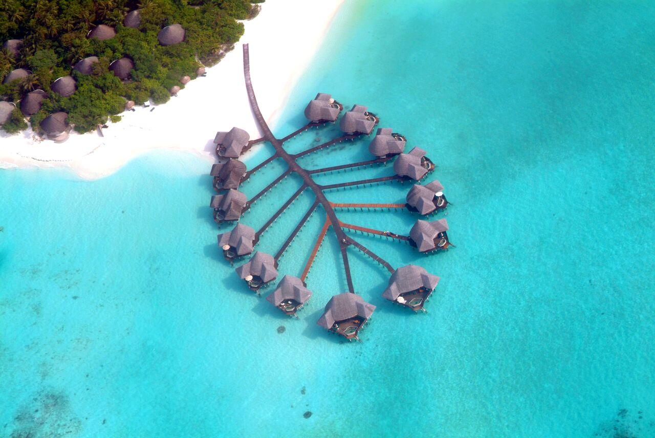 Aerial (6) Lagoon Villa wing