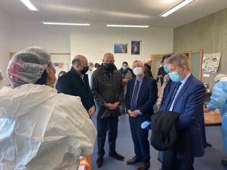 Démarrage de la campagne de tests salivaires dans les écoles de Moselle