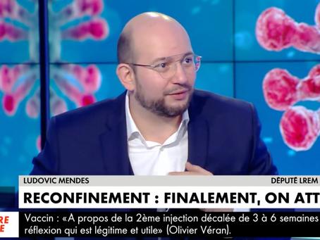 Invité de l'émission MidiNews sur CNEWS